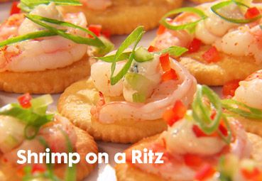 shrimp on a ritz recipe